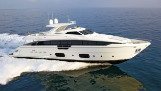 View large version of image: Latest superyacht Ferretti 960 Project scheduled for launch in spring 2013