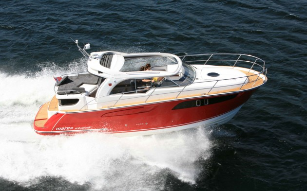 View large version of image: Marex 320 ACC - European powerboat of the year award 2013