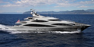 View large version of image: Latest 47 m Benetti Yacht with interior design by Rhoades Young
