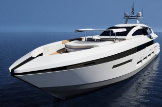 View large version of image: New 58m Luxury Motor Yacht Concept by Francesco Paszkowski for Heesen Yachts