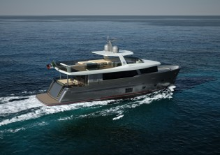 View large version of image: New CdM Nauta Air 88' yacht signed
