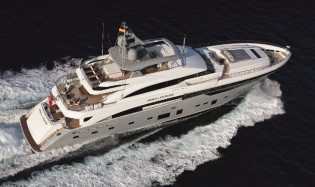 View large version of image: Princess 40M superyacht IMPERIAL PRINCESS among finalists for 2013 World Superyacht Awards