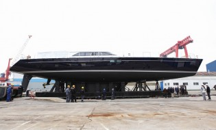 View large version of image: Perini Navi launch the new 40 M Fast Cruising series yacht STATE OF GRACE