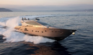 View large version of image: Cerri 102' FlyingSport Hull 2 Finalist in the World Superyacht Awards 2013