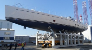 View large version of image: First Oyster 125 yacht TWILIGHT revealed by Oyster Marine