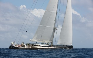 View large version of image: Vitters Yacht LADY B to participate in St. Barths Bucket 2013