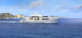 View large version of image: Heesen Yachts sell first 55m steel fast displacement yacht YN 17255