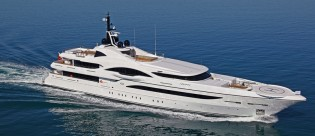 View large version of image: H2 designed 72 m mega yacht VICKY Finalist in International Yacht & Aviation Awards