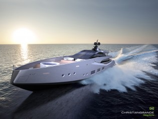View large version of image: Christian Grande designed ACAPULCO 55 Yacht Concept