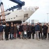 Launch of the Ferretti Custom Line 124&#039; motor yacht Hull no. 4