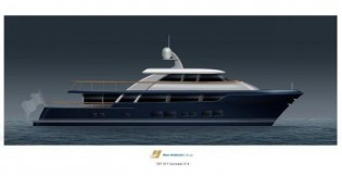 View large version of image: Latest 35m superyacht by Rayburn Yachts and Ron Holland