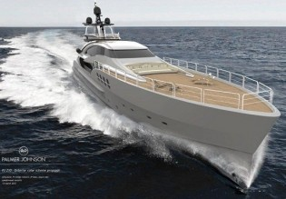 View large version of image: PJ 210 mega yacht Project STIMULUS to feature Seakeeper gyros