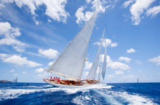 View large version of image: Pendennis luxury yacht ADELA wins Antigua Superyacht Challenge 2013