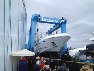View large version of image: Rossinavi launches 48 m superyacht VELLMARI