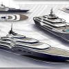 Newcruise designed 138m motor yacht DASH concept