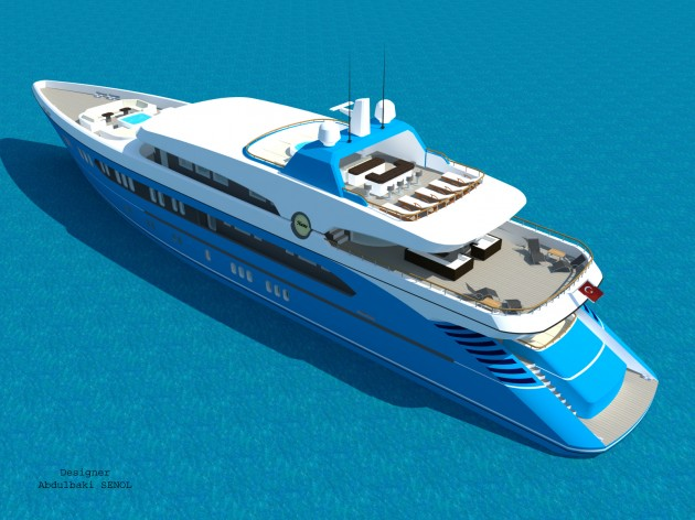 View large version of image: 55 m. Concept Yacht