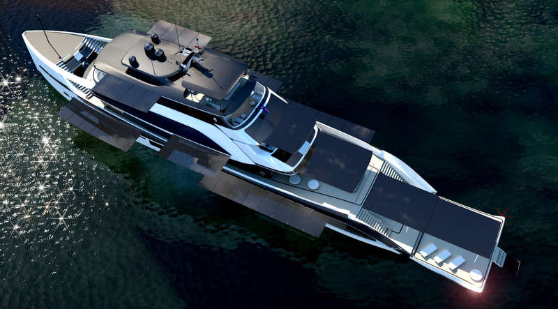 View Large Version Of Image New 62m Motor Yacht Concept By H2 Yachts