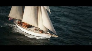 View large version of image: 1924 English gentleman's classic yacht HURRICA V for sale