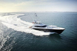 View large version of image: Palm Beach Boat Show 2013 featuring first 90ft Sportfish Yacht SATU by Satu Marine