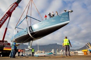 View large version of image: Second SW 102 Yacht HEVEA launched by Southern Wind