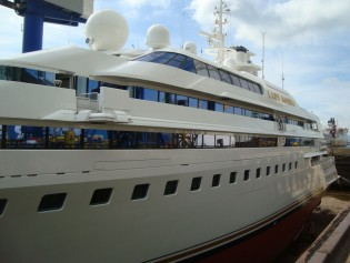 View large version of image: Special Makeover for Blohm & Voss superyacht LADY MOURA by Wild Group