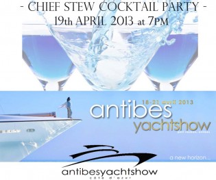 View large version of image: Exclusive Chiefstew party at Antibes Yacht Show !