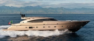View large version of image: Guido de Groot designed AB116 superyacht DIAMOND among finalists for ShowBoats Design Awards 2013