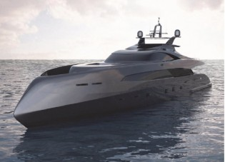 View large version of image: IY&A Award 2013 for ICON ER175 Yacht Concept designed by IVAN ERDEVICKI