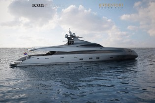View large version of image: ICON Yachts ready to build ICON-ER175 yacht design