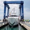 New 41m motor yacht AZIZA launched by ISA