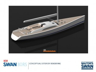 View large version of image: Nautor's Swan presents its latest Swan 80RS Yacht