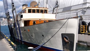 View large version of image: Motor yacht FAIR LADY refitted by Pendennis Palma