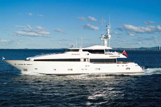 View large version of image: Exceptional super yacht MASTEKA 2 available for charter in FIJI and the Pacific