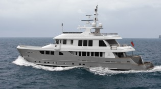 View large version of image: First 115ft TANGO 5 Yacht launched by Horizon