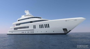 View large version of image: Diana Yacht Design to work on engineering and building of Hakvoort Yacht GOLDEN AGE