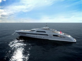 View large version of image: Heesen Yachts launch 65m mega yacht GALACTICA STAR (Project Omnia)