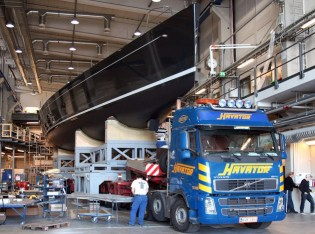 View large version of image: Baltic Yachts launch Baltic 107 Yacht INUKSHUK