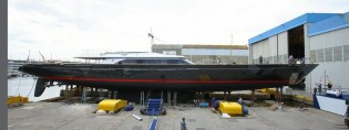 View large version of image: New launch: 60m superyacht SEAHAWK by Perini Navi and Ron Holland