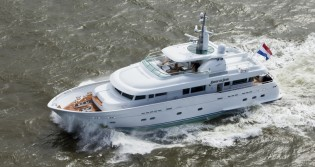 View large version of image: Flevo Ship Holland delivers 29m BELLE DE JOUR Yacht