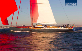 View large version of image: Southern Wind delivers SW102DS Yacht HEVEA