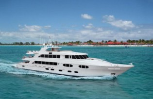 View large version of image: New 45m superyacht RICHMOND LADY (hull 7) launched by Richmond Yachts
