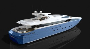 View large version of image: Admiral Tecnomar sell new Admiral Regale 45 WJ Yacht