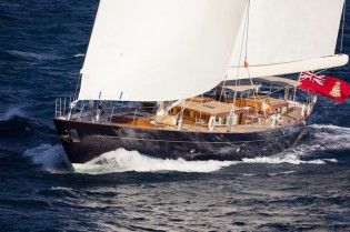 View large version of image: Luxury yacht Pumula with interior design by Rhoades Young wins at World Superyacht Awards 2013