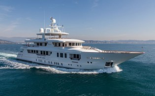 View large version of image: Sophisticated and Elegant 45m Motor Yacht PRIDE for charter in the Western Mediterranean