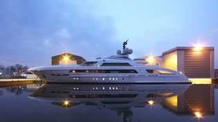 View large version of image: Delivery of 65m Heesen superyacht GALACTICA STAR