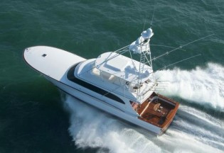 View large version of image: Jarrett Bay 77 Yacht BLANK CHECK delivered
