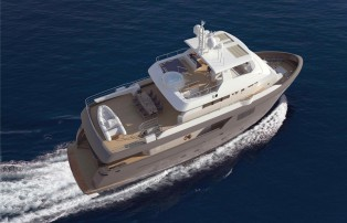 View large version of image: New explorer yacht Darwin Class 86' sold by Cantiere delle Marche
