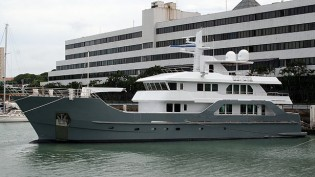 View large version of image: New 37m expedition yacht FAR FAR AWAY delivered by Inace Yachts