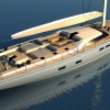 Southern Wind working on third SW 102 Yacht FARFALLA