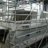 Mulder 73 Wheelhouse Yacht FLOAT to undergo complete paint job at Mulder Shipyard